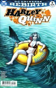 Harley Quinn 8 COVER B VARIANT NM Rebirth DC Comics BATMAN JOKER