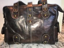 426881e094d1 Guia's Metallic Bronze Genuine Leather purse/bag/pocketbook made in Italy