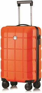 Cabin On Board Hand Luggage Bag 4 Wheel Travel Suitcase Easyjet 56x45x25 Case