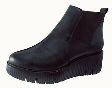 Shoes Woman / Womens Shoes Ankle Boots Wonders Leather Black/Black Ref.E-6207