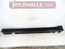 BMW E61 E60 5er Seitenschweller Abdeckung links Saphirschwarz 475 7178121