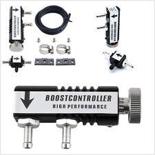 Manual de automóviles de 1-30PSI Negro Profesional controlador de Turbo Boost impulso de Válvula de descarga
