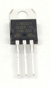 L7805CV | Spannungsregler 7805| +5V  | 1,5A | Festspannungsregler Positiv TO-220