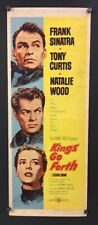 Kings Go Forth Movie Poster Insert - Sinatra Curtis Wood 1958 *Hollywood Posters