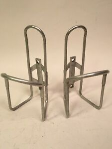 Jim Blackburn Water Bottle Cages (2x) Pair Vintage Made in the USA Alloy