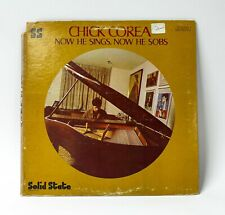 Chick Corea - Now He Sings, Now He Sobs - Solid State Records SS 18039 - Vinyl