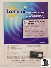 SoundTraxx ~ New 2020 ~ Econami ~ ECO-21 Pin Steam ~ Sound Decoder ~ 881006