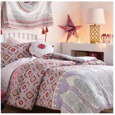 5pc John Robshaw Kali Twin Xl Comfort 00006000 er Set Boho Purple Red Pink Mandala Dorm