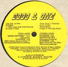 2000 & One – Nowhere - Lower East Side Records - LES 009 - Holl 1990