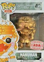 FUNKO POP! ASIA: LEGENDARY CREATURES & MYTHS - GOLD HANUMAN EXC. #42 *UK STOCK*