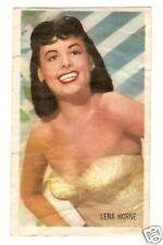Lena Horne  .  Vintage Kwatta Movie Star Card