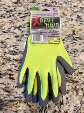 Xpert Grip Hi Vis Foam Rubber Honey Comb Latex Coating One Size Non Slipnew