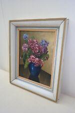 Beau vieux Cadre photo, Armature en bois 39x33
