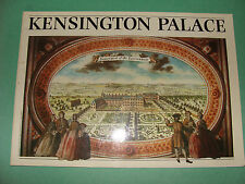 Kensington Palace 1984 UK History Guide Book Queen Victoria, William & Mary