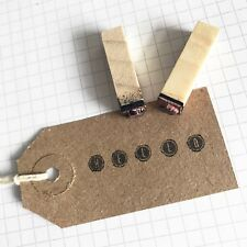 30 Vintage-Inspired Recycled Brown Kraft Card Rustic Luggage Tags 70mm x 35mm