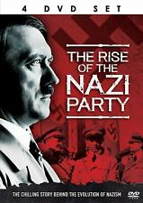 THE RISE OF THE NAZI PARTY - BOX 4 DVD Documentario in Inglese NEW .cp