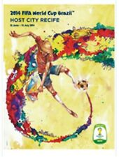 2014 FIFA Brazil World Cup Soccer Poster Recife 24x36 Official Football