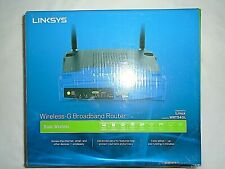 """Linksys WRT54GS 54 Mbps 4-Port 10/100 Wireless G Router """"NEW"""""""