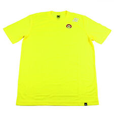 DC SHOE CO SWIFT Fast Dry Athletic Jersey Shirt YELLOW Size XL