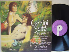JON LORD - Gemini Suite LP (RARE 1st UK Issue on PURPLE w/Textured Cover)
