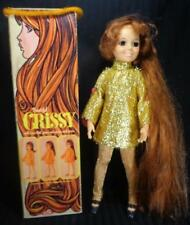 Vintage 1969 CRISSY Doll in ORIGINAL BOX IDEAL w rare EXCLUSIVE CRISSY GOWN nice