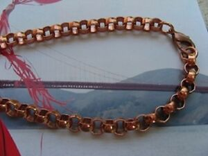 Solid Copper Chain CN705G - 5/16 of an inch wide. Available in 18 to 30 inches.
