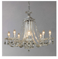 Buy john lewis crystal ceiling chandeliers ebay john lewis ophelia 8 light crystal chandelier ceiling light aloadofball Image collections