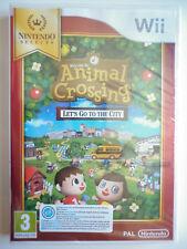 Animal Crossing Let's Go To The City Jeu Vidéo Nintendo Wii