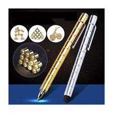 Magnetic Polar Pen Stylus Touch Screen 12pcs Steel Ball Creative Toy Gift (Gold)