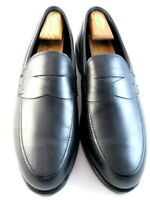 """NEW Allen Edmonds """"WOOSTER STREET"""" Penny Loafers 12 D Black Made in USA(587)"""