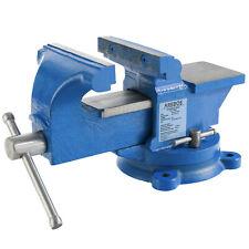 125 mm Werkstatt Schraubstock für Werkbank Drehteller Drehbar mit Amboss 125 mm