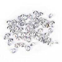 100 Pcs Cristal Diamant Confetti De Mariage Partie De Décoration De Décor FE