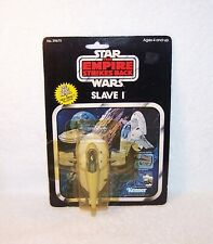 Vintage Star Wars Mint On Card Die Cast Slave 1, Kenner #39670, Beautiful !!