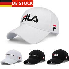 FILA Herren Basecap Baseball Mütze Damen Hüte Kappe Sports Base Cap Logo Caps DE