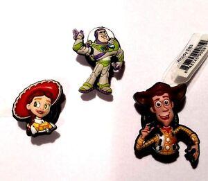 Jibbitz Toy Story Authentic Crocs Shoe Charms Disney Pixar Buzz Jessie Woody NWT