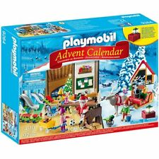 PLAYMOBIL Santa's Workshop Advent Calendar 9264 - 106 Pieces Age 4-10