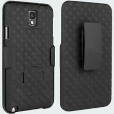 Samsung Galaxy Note 3 Case, Rugged Slim Swivel Clip Holster Shell Comb