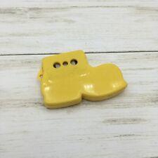 Vintage Bootie Tone Shoe Whistle Rattle Advertising Spec-Toy