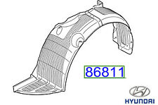 Genuine Hyundai i10 Anteriore Passaruota Fodera, LH - 86811B9500