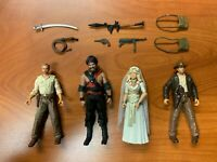 Hasbro Indiana Jones Temple of Doom Willie, Temple Guard, KOTCS & ROTLA Indy Lot