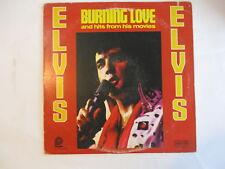 Elvis Presley - BURNING LOVE lp vinyl