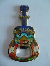Hard Rock Cafe LAGOS Nigeria - City Tee - Guitar with Logo Magnet Bottle Opener
