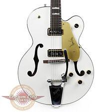 Gretsch G6120DE 1957 Limited Edition Duane Eddy Hollow Body Pearl White Demo