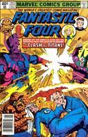 FANTASTIC FOUR #212 VG/F, GALACTUS C/S, John Byrne A,  Marvel Comics 1979
