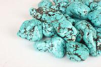 Natural Arizona Mine Kingman Turquoise Gemstone Rough Nuggets Lot 250-5000 Ct.