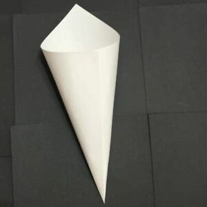 Wedding Kraft Confetti Cones Set for Wedding Ceremony Party for Petal Candy Use