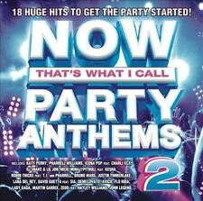 Now! Party Anthems, Vol. 2 - CD Album Damaged Case