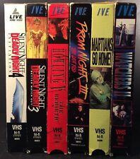IVE Lot/6, Horror (VHS) Used (VG) Promo's, Prom Night 3, Howling 5, Watchers 2..