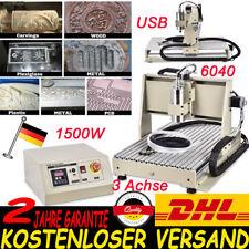 USB 3AXIS CNC Router Engraver 6040 Gravieren Graviergerät Fräsmaschine 1.5KW VFD