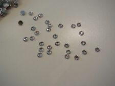 10g 4mm flat base glue on Festival nails gems or face art crystal effect gems